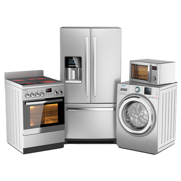 PVD metalization of home appliances